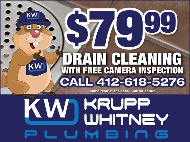 $79.99 Drain Cleaning with Free Camera Inspection